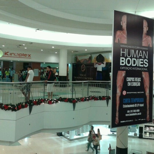 Photo taken at Shopping Recife by Renato A. on 10/29/2012