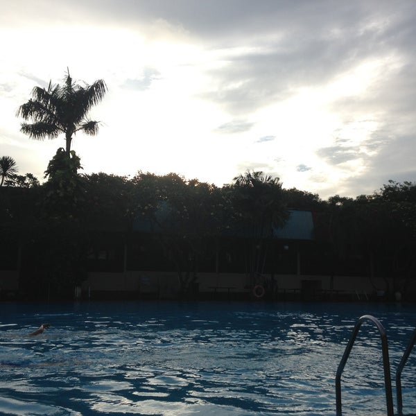 Photo taken at Graha Residence Swimming Pool by Elizabeth A. on 5/13/2013