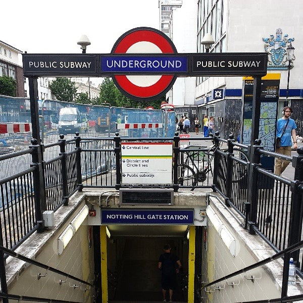notting hill gate london underground station pembridge london greater london. Black Bedroom Furniture Sets. Home Design Ideas