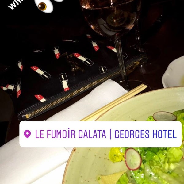 Photo taken at Georges & Bar Le Fumoir by Gamze G. on 5/7/2017