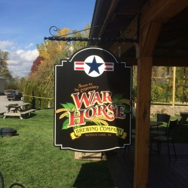 Photo taken at War Horse Brewery by Edward H. on 10/8/2015