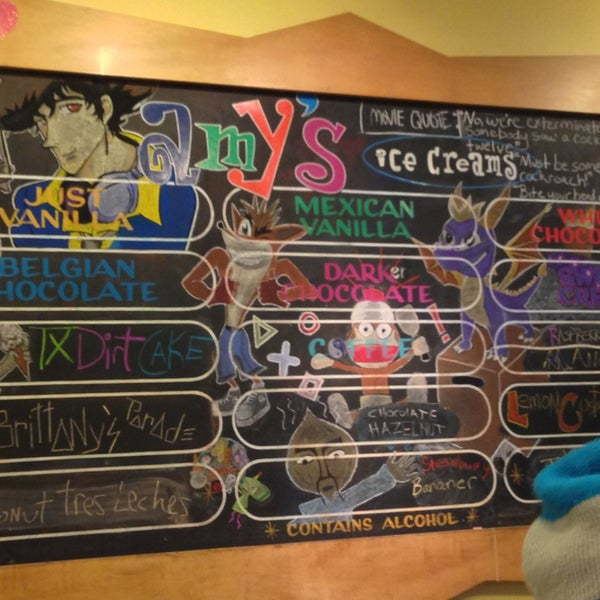 3/12/2013 tarihinde Lasse L.ziyaretçi tarafından Amy's Ice Creams'de çekilen fotoğraf