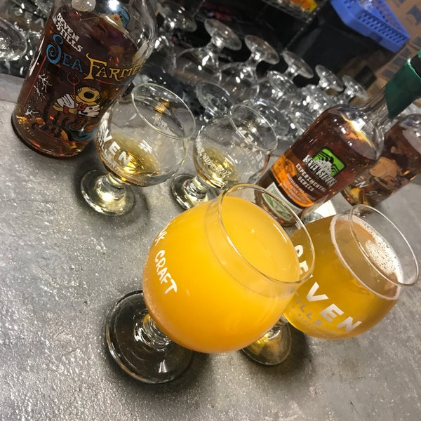 Photo taken at Seven Stills Brewery & Distillery by Frederic B. on 4/20/2017