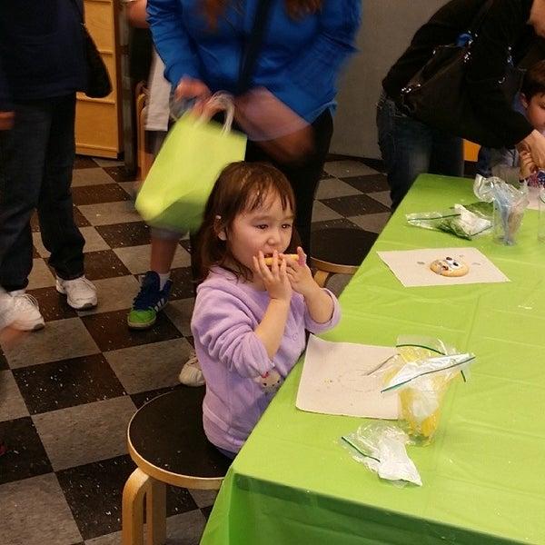 Photo taken at Long Island Children's Museum by Stefan on 4/12/2014