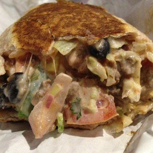 Photo taken at Burrito Boyz by Will L. on 5/1/2013