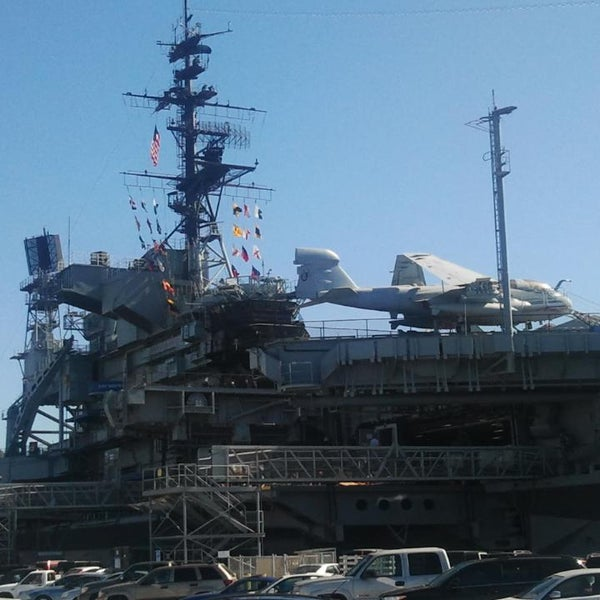 Photo taken at USS Midway Museum by Randy M. on 2/10/2015