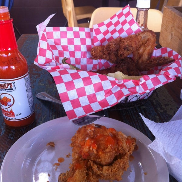 Photo taken at Lucy's Fried Chicken by Jeremy G. on 2/7/2013