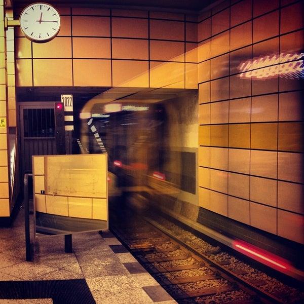 Photo taken at U Weberwiese by Fritztram on 10/29/2013