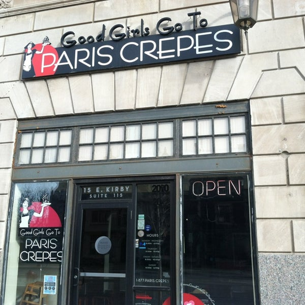 Safe Places To Travel Outside Us: Good Girls Go To Paris Crepes (Now Closed)