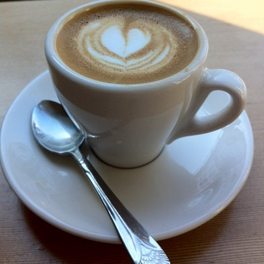 Photo taken at Victrola Cafe and Roastery by Christopher W. on 9/23/2012