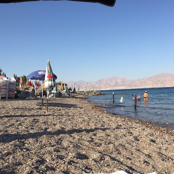 Photo Taken At Migdalor Beach Club Eilat By Dmitry K On 6 5