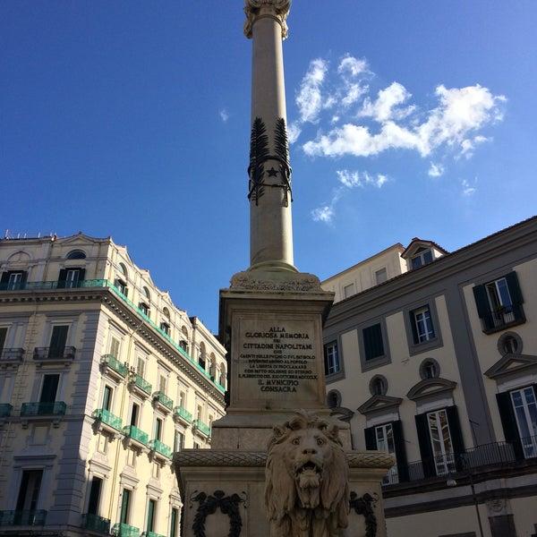 Photo taken at Piazza dei Martiri by Gustavo M. on 11/10/2016