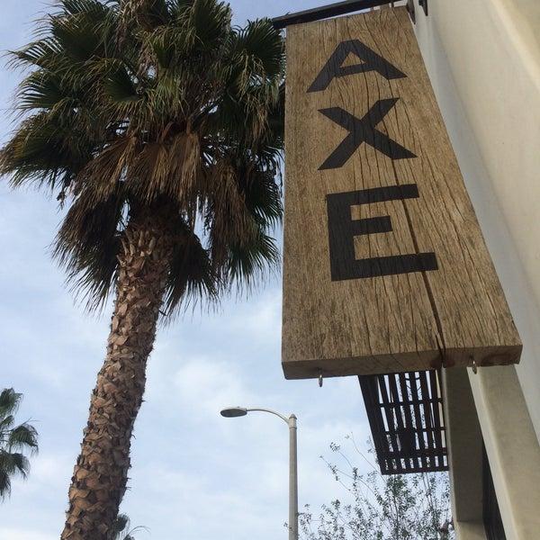 Photo taken at Axe by Nancy H. on 12/21/2014