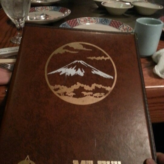 Photo taken at Mt. Fuji Japanese Steak House by Anthony R. on 4/19/2013