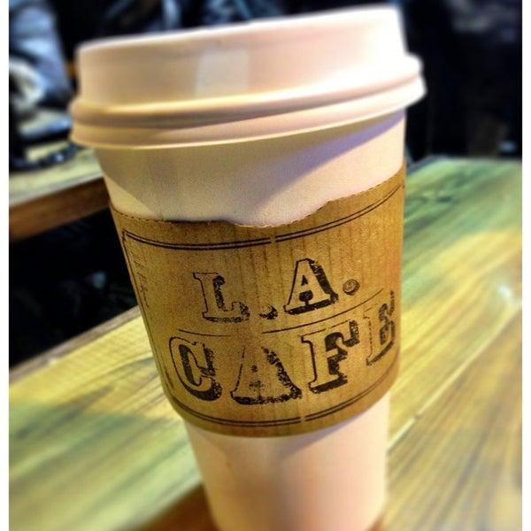 Photo taken at LA Café by Joey N. on 3/19/2013