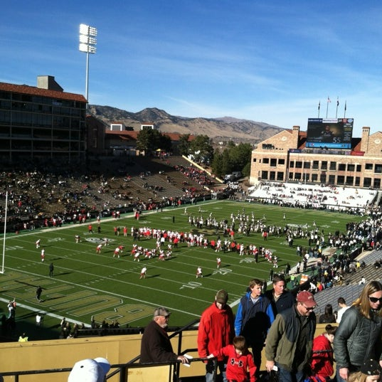 Photo taken at Folsom Field by Charlie B. on 11/23/2012