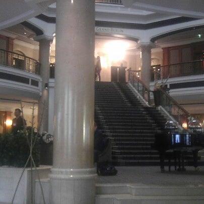 Das Foto wurde bei The Westin Grand Berlin von Matthew S. am 10/17/2012 aufgenommen