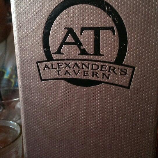 Photo taken at Alexander's Tavern by Allen D. on 6/8/2013