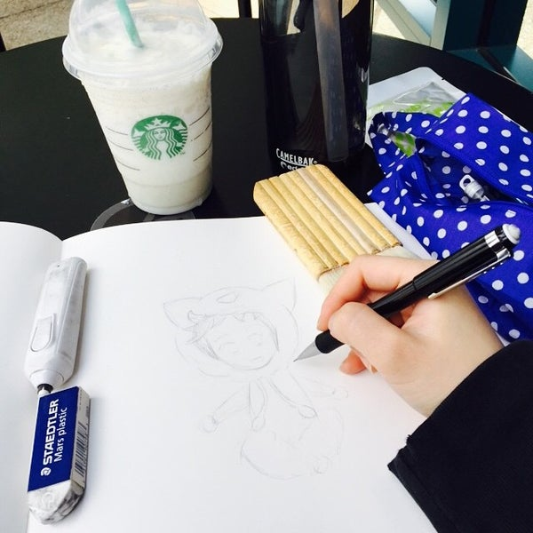 Photo taken at Starbucks by Scratch on 11/15/2014
