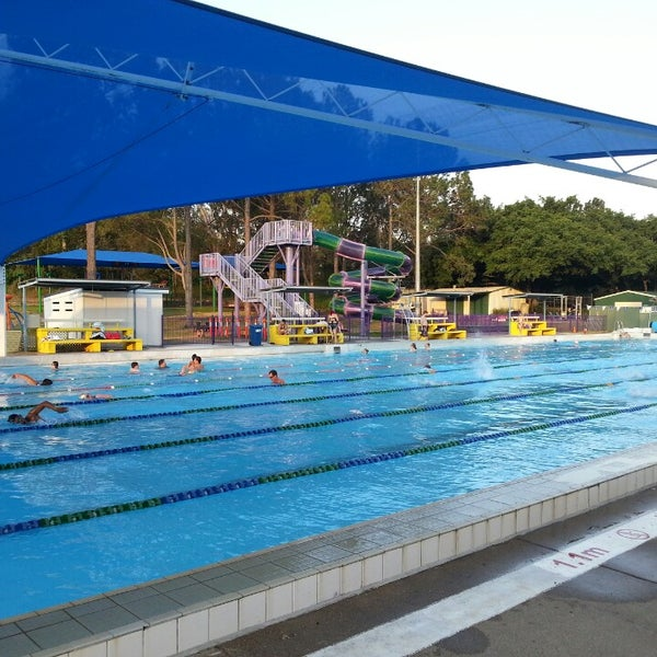 Photo Taken At Newmarket Olympic Swimming Pool By Hamish G. On 1/20/
