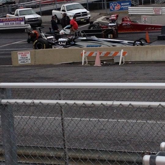 Photo taken at Atco Raceway by Beth Z. on 10/12/2012