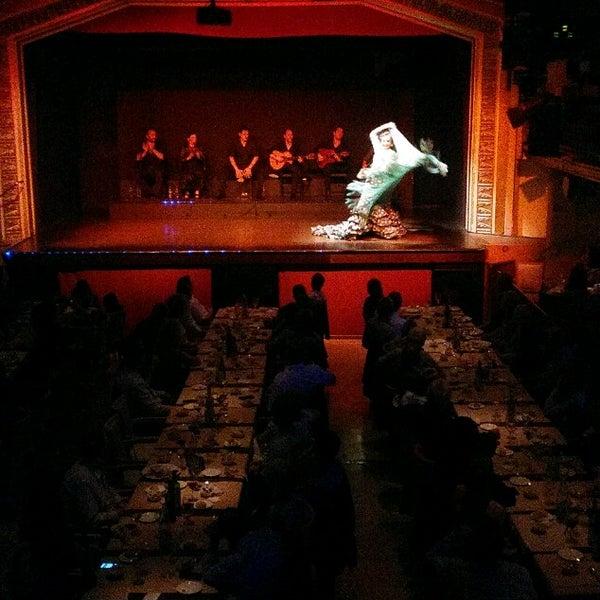 Photo taken at Palacio del Flamenco by Hazal A. on 5/19/2017