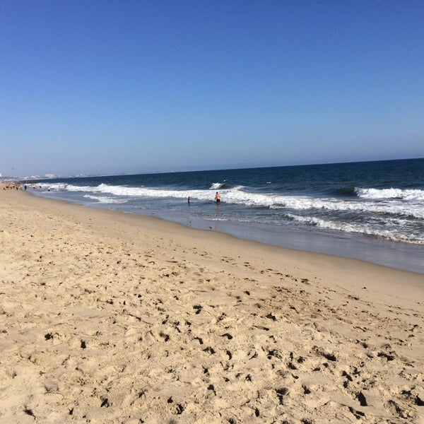 Photo taken at Pacific Palisades Beach by Shawn H. on 8/1/2014