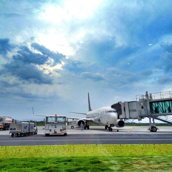 7/13/2013にはまじが岩国錦帯橋空港 / 岩国飛行場 (IWK)で撮った写真