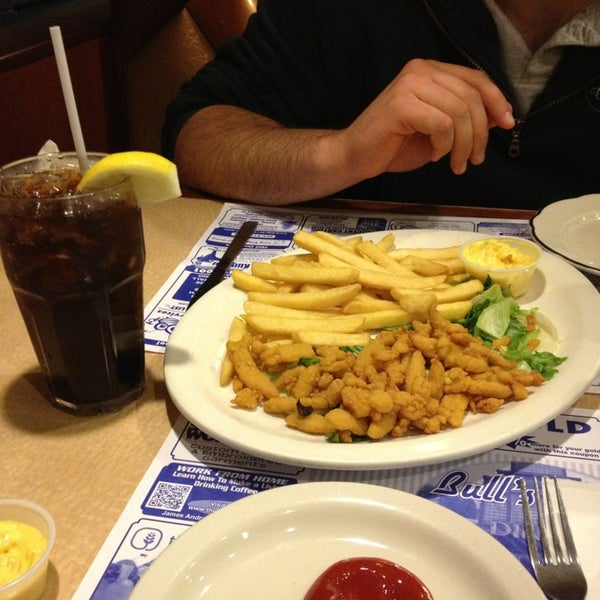 Photo taken at Bull's Head Diner by Alyssa N. on 4/16/2013