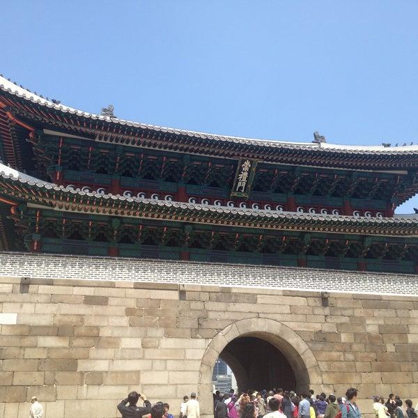 Photo taken at Sungnyemun by Jeremy S. on 5/5/2013