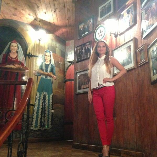 Снимок сделан в Old Erivan Restaurant Complex пользователем Елена В. 7/19/2013