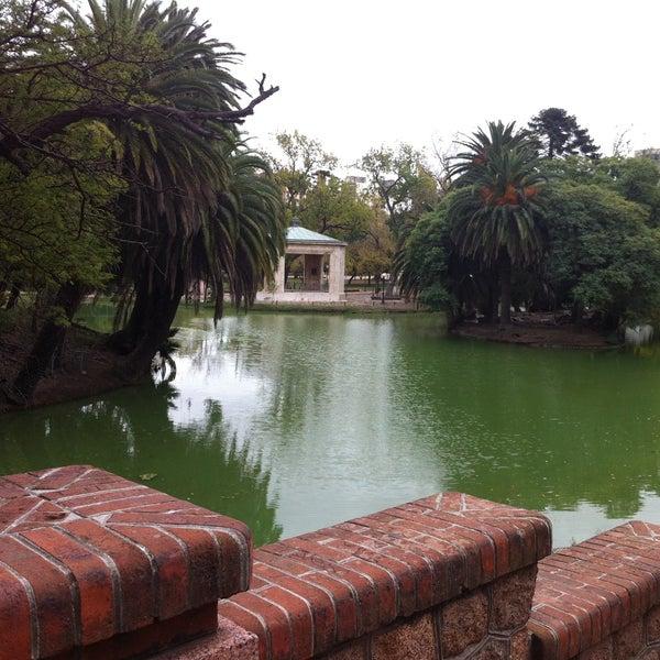 Photo taken at Parque José Enrique Rodó by Henrique M. on 4/29/2013
