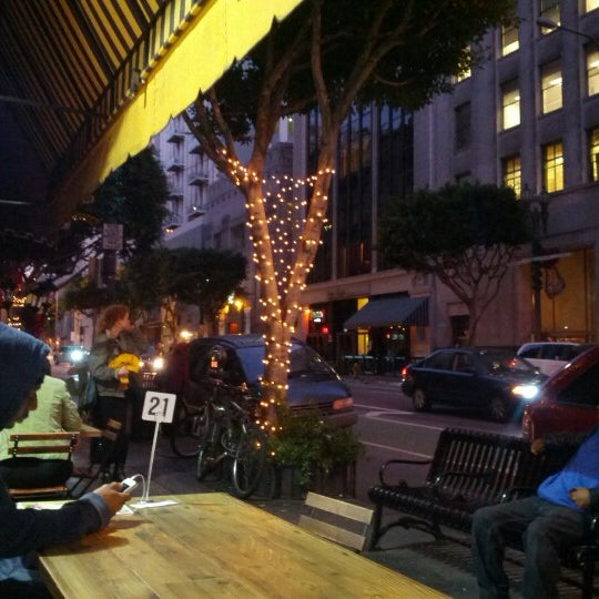 Photo taken at LA Café by James J. on 12/14/2012