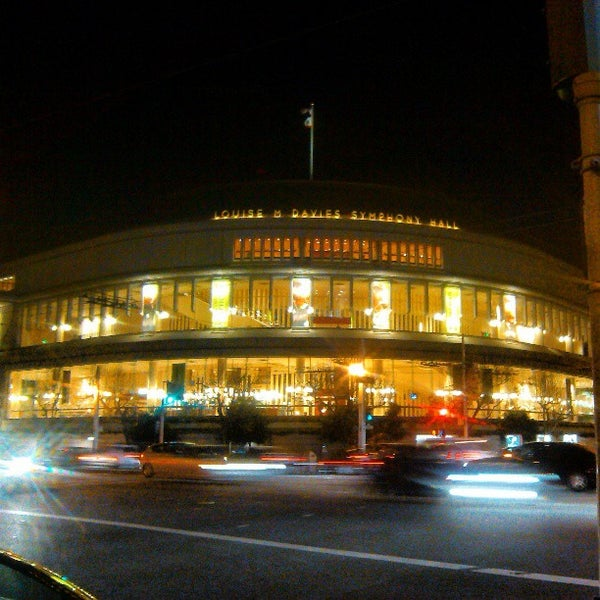 Photo taken at Louise M. Davies Symphony Hall by Francisco A. on 3/10/2013