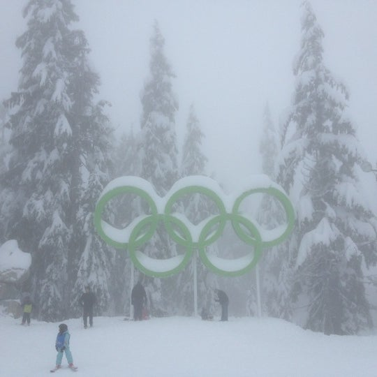 Photo taken at Cypress Mountain Ski Area by Koltzunash C. on 12/16/2012