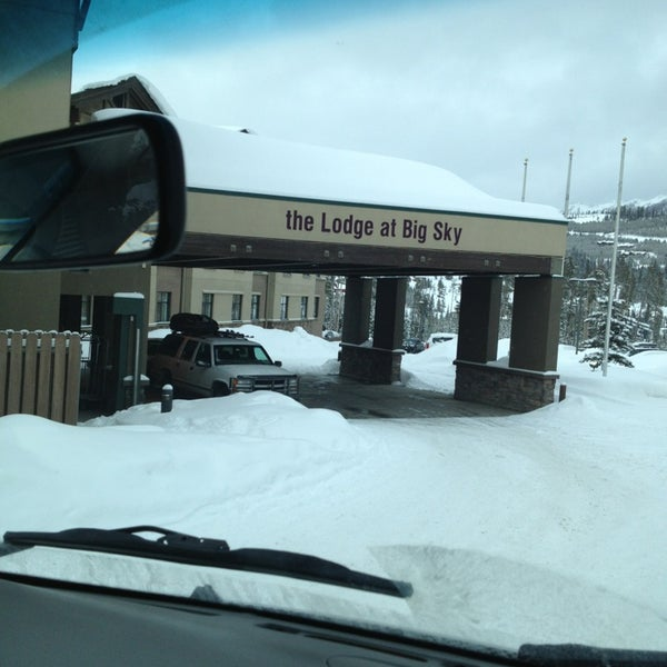 Photo taken at The Lodge at Big Sky by Stevo on 2/23/2013
