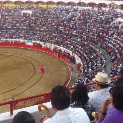 Foto tomada en Plaza de Toros Nuevo Progreso por Alfonso G. el 11/11/2012