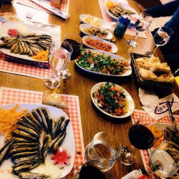 10/17/2016 tarihinde Beyza Ö.ziyaretçi tarafından Ekonomik Balık Restaurant Avanos'de çekilen fotoğraf
