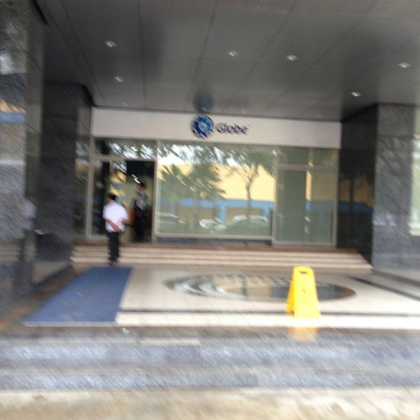 Photo taken at Globe Telecom IT Plaza by Bunbun R. on 1/10/2013
