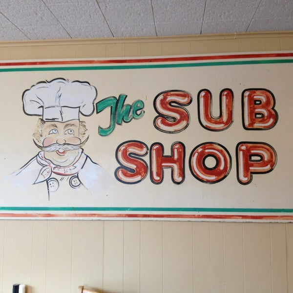 Photo taken at The Sub Shop by nicole f. on 3/1/2013