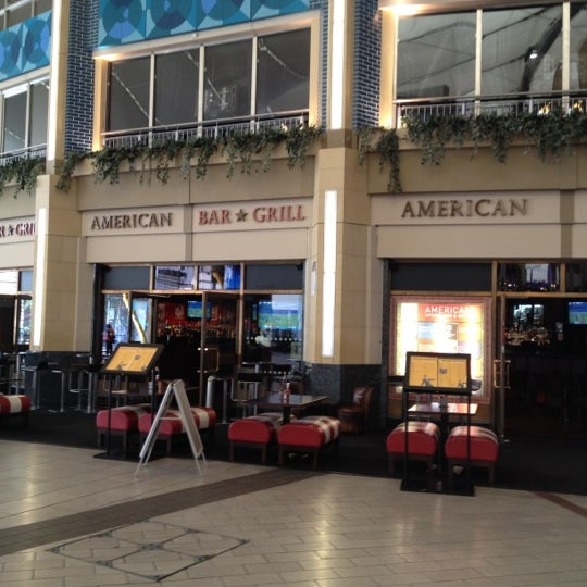 American sports bar grill now closed sports bar in london - American grill restaurant ...