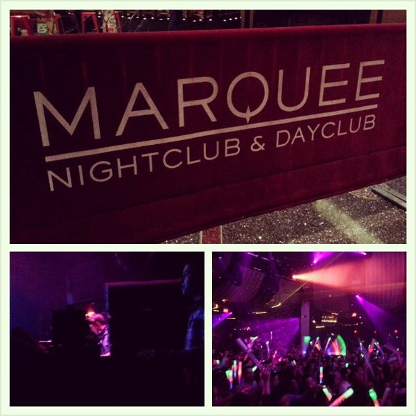 Photo taken at Marquee Nightclub & Dayclub by Chris T. on 1/12/2013