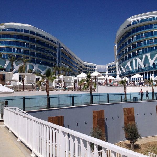 5/29/2013 tarihinde Ilknur B.ziyaretçi tarafından Vikingen Infinity Resort Hotel & Spa'de çekilen fotoğraf