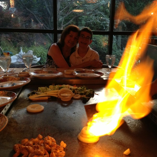 Photo taken at Mt. Fuji Japanese Steak House by Michael D. on 7/22/2013