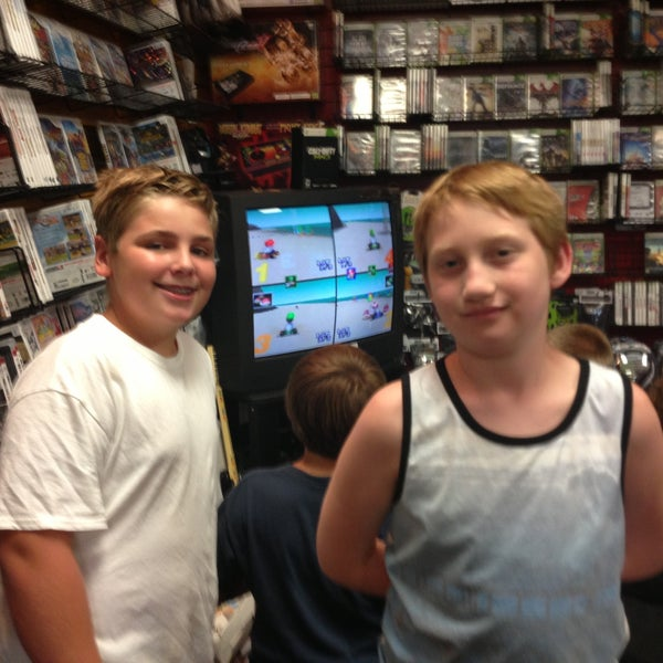 Photo taken at Game Over Videogames by Drew G. on 8/3/2013