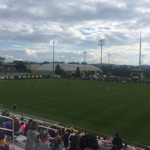 Photo taken at Dick Dlesk Soccer Stadium by Chris B. on 10/2/2016