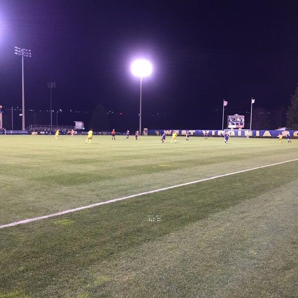 Photo taken at Dick Dlesk Soccer Stadium by Chris B. on 11/14/2015