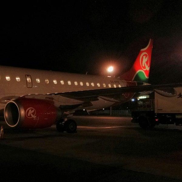 Photo taken at Jomo Kenyatta International Airport (NBO) by mentalacrobatics on 5/28/2013
