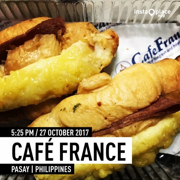 Photo taken at Café France by Don C. on 10/27/2017