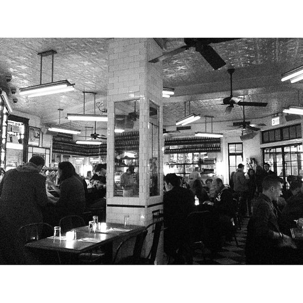 Photo taken at Schiller's Liquor Bar by Bryan V. on 3/12/2013